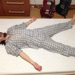 西川のムアツ布団を買ってみたのだがメチャ寝心地よくて安眠できる!