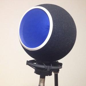 KAOTICA Eyeballはマイクのポップガード&リフレクションフィルターになってくれてレコーディングに欠かせない!