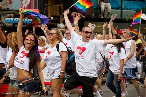 Gay Pride Parade New York City 2011