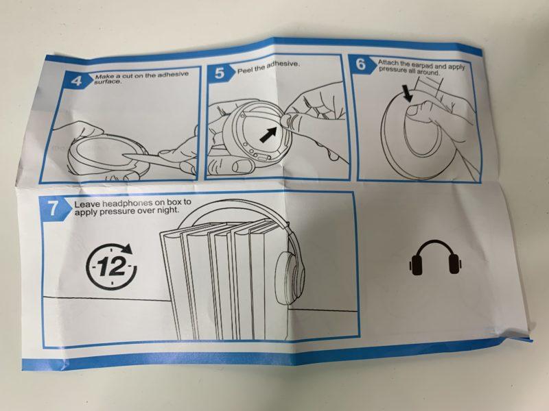 Beats Studio3のイヤーパッドを約1500円で自力で交換する方法 17