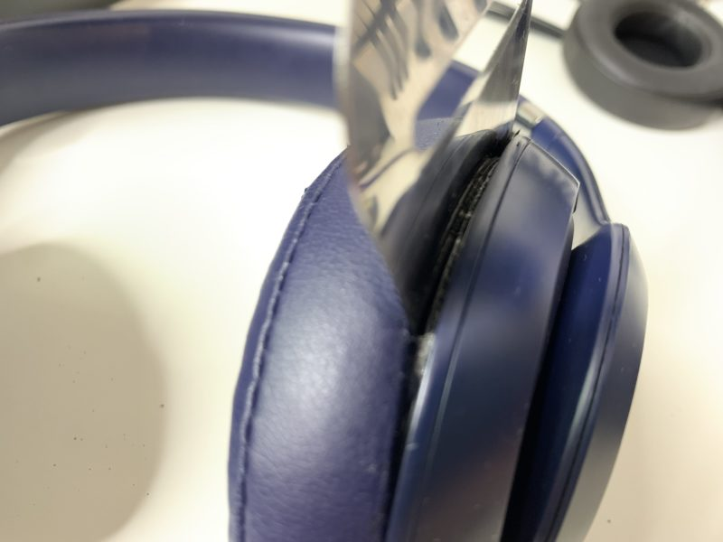 Beats Studio3のイヤーパッドを約1500円で自力で交換する方法 4