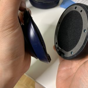 Beats Studio3のイヤーパッドを約1500円で自力で交換する方法(自己責任)