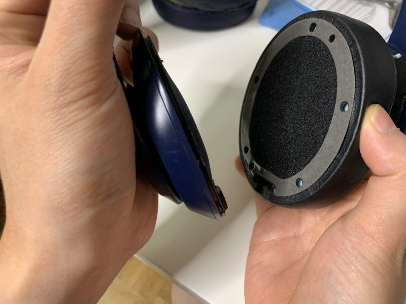Beats Studio3のイヤーパッドを約1500円で自力で交換する方法 8