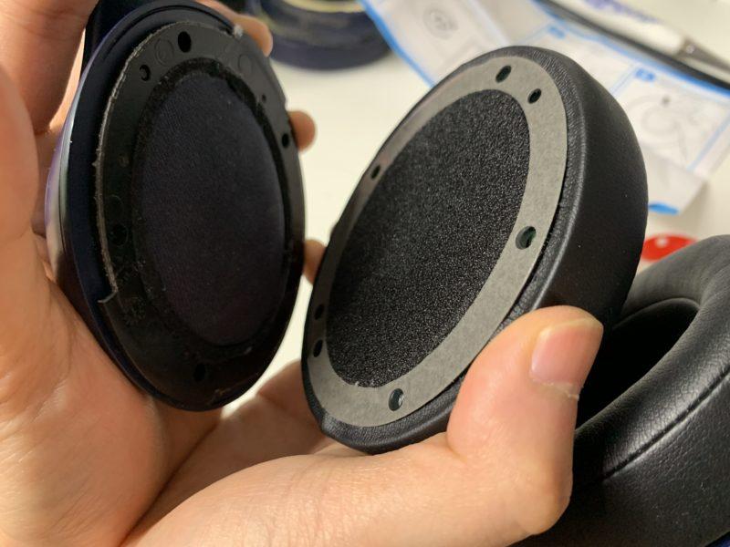 Beats Studio3のイヤーパッドを約1500円で自力で交換する方法 9