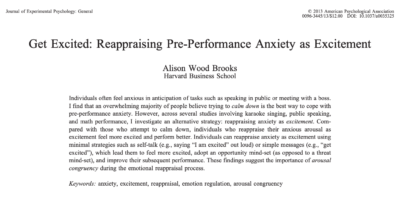 Get Excited by Alison Wood Brooks