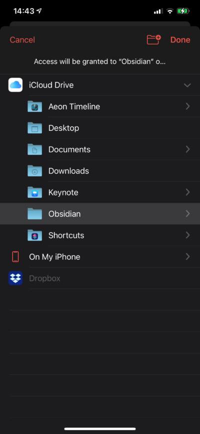 Obsidianをスマホアプリで使う方法と手順 3