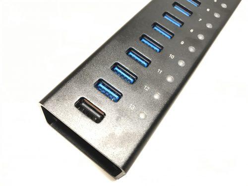 14ポート搭載USBハブAnker AH232はすべてUSB3.0対応