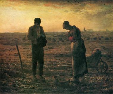 Jean-Francois Millet 「晩鐘」 (1855~1857)