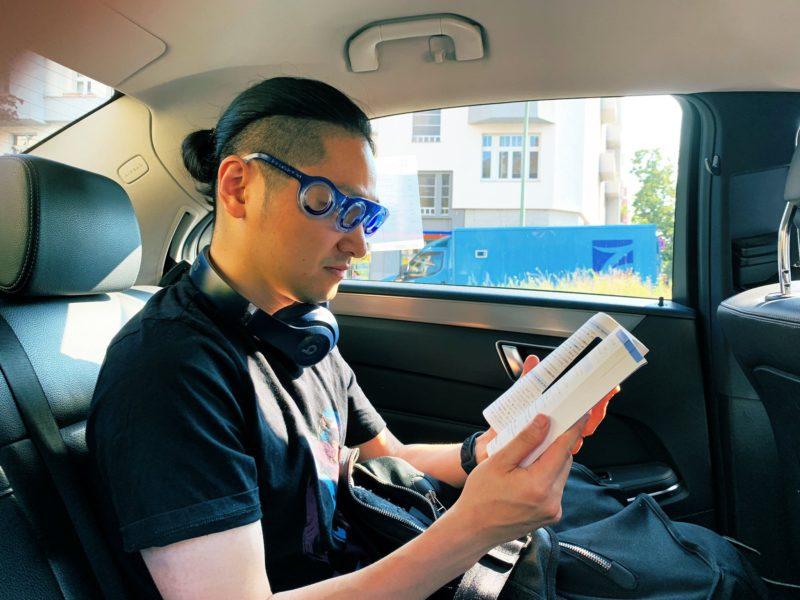 乗り物酔いに効く画期的なメガネ「シートロエン」 2