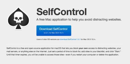 作業中に特定のWebサイトへのアクセスを遮断してくれるMacアプリSelfControlが脱線防止に良い!