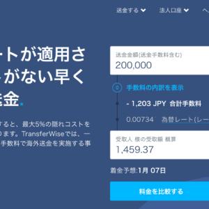 TransferWiseならネットで海外送金が安く簡単にできる