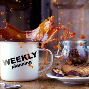 目標達成を強烈に推し進める「週次計画」のススメ